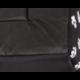 Búda butterfly čierna s labkami