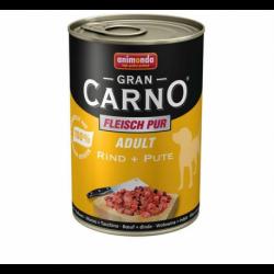 Animonda GRANCARNO® dog adult hovädzie a morka 400g konzerva