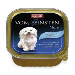 Animonda Vom Feinsten dog ADULT hydina a tmavá treska 150 g