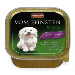 Animonda Vom Feinsten dog ADULT jahňa a cereálie 150 g