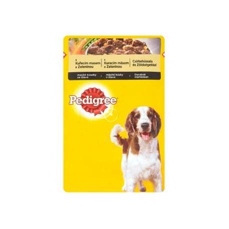 Mars PEDIGREE kapsička dog ADULT s kuracím mäsom & zeleninou v šťave 100 g