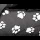 Búda pre psa šedá s labkami