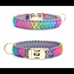 Rainbow gray obojok pre psa