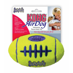 Hračka Kong Air Dog Lopta rugby tenis S