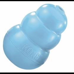 Hračka Kong guma Puppy Granát ružový/modrý M