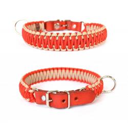 Červený sťahovací obojok pre psa