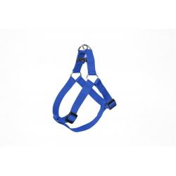 Postroj DUVO+ nylon modrý 50-65 cm/ 20 mm