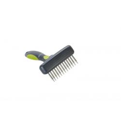 Hrebeň Buster plast zelený 13 krátkych rotujúcich zubov