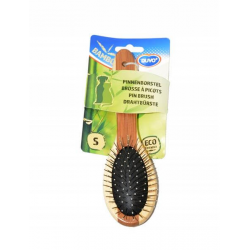 Hrebeň DUVO+ kefa Combo bambus kovová Small 19,5 x 5,5 cm