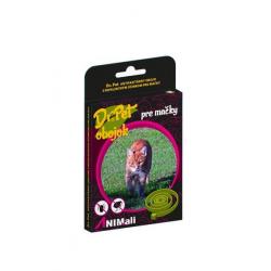 Obojok Dr.Pet pre mačky 35 cm antiparazitárny ČIERNY s repelentným účinkom (tick and flea repellent collar for cats)