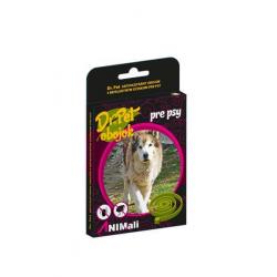 Obojok Dr.Pet pre psy 75 cm antiparazitárny ZELENÝ s repelentným účinkom (tick and flea repellent collar for dogs)
