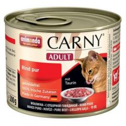 Animonda CARNY® cat Adult hovädzie konzerva