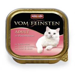 Animonda Vom Feinsten cat CLASSIC hovädzie a morčacie srdiečka 100 g