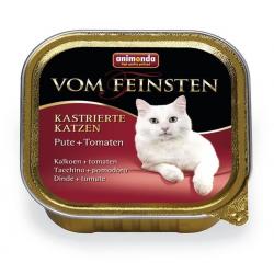 Animonda Vom Feinsten cat Kastrované mačky morka a paradajky 100 g