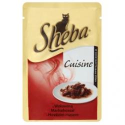 Mars SHEBA kapsička cat Cuisine hovädzie v šťave 85 g