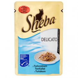 Mars SHEBA kapsička cat Delicato tuniak v želé 85 g