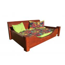 Drevená posteľ pre psa