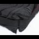 Pelech pre psa COMFORT čierny s červeným lemom