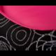 Pelech pre psa NEW YORK ružový s krúžkami